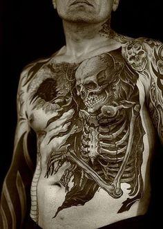 Tattoo by Regino Gonzales