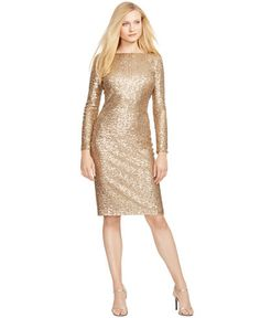 240.00$  Buy now - http://viump.justgood.pw/vig/item.php?t=aziq15734237 - Sequined Scoop-Back Dress