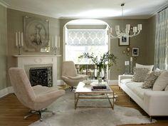modern glamour living room 12