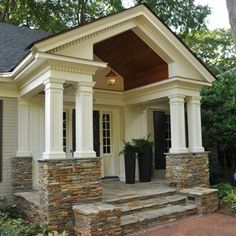 Traditional Entry Ranch House Exterior Options Design Ideas
