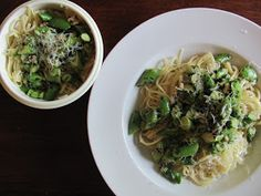 A Life Sustained: {CSA Recipes} Linguine with Spring Vegetables & Herbs