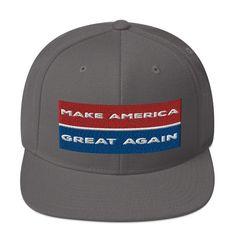 fd161bd4522b2 MAGA Snapback Hat Make America Great Again Donald Trump Hat