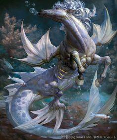 creature qiming1989 underwater