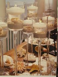seashell wedding table setting