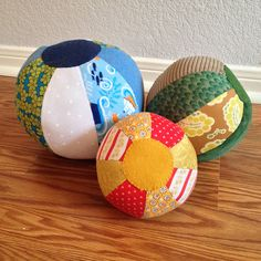 Sewing Little Things: Beach Balls, Baby Shoes, and One Last Play Mat