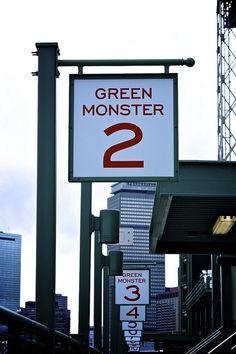 Fenway Park Signage