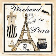 WEEKEND IN PARIS BY KATHY HATCH