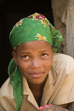 A Beautiful Girl, Lesotho, Africa