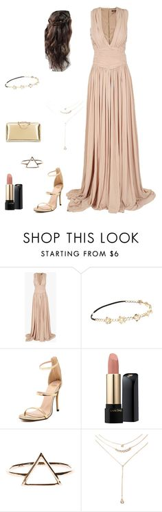 """""""Untitled #253"""" by kasia206648 ❤ liked on Polyvore featuring Balmain, Chicnova Fashion, Lancôme, Forever 21, Chloé, women's clothing, women, female, woman and misses"""