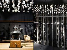 Origo Coffee Shop by Lama Arhitectura, Bucharest – Romania Visual Merchandising, Inspiration Boards, Interior Inspiration, Retail Solutions, Bucharest Romania, Retail Store Design, Branding Materials, Design Blog, Cozy Place