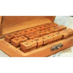 BeautyLife 70pcs Rubber Stamps Vintage Wooden Box Case Alphabet Letters Number Craft: Amazon.es: Electrónica