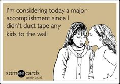 Teacher eCard - Duct tape discipline strategies -- In our DI meetings, this is entirely possible... :)