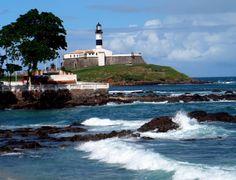 Farol da Barra - Salvador, Bahia    (by Yaci Andrade)
