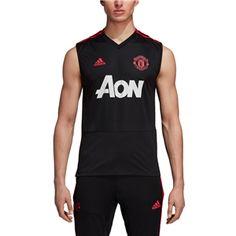b46f75a8c Manchester United 18 19 Sleeveless Training Jersey by adidas Manchester  United Training