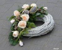 florystyka żałobna dekoracje nagrobne -