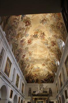 94. Luca Giordano.Historia de San Ildefonso. Sacristía de la catedral de Toledo.
