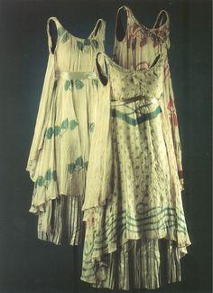 Leon Bakst nymphe costumes for L'après Midi d'un Faune 1912