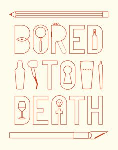 TREVOR BASSET ·· Poster design inspired by the Jonathan Ames' Bored to Death on HBO.