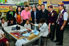 PIP Wing-Kun Tam and District 300F #LionsClubs participated Taiwan vision care activities for students