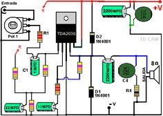 amplificador TDA2030