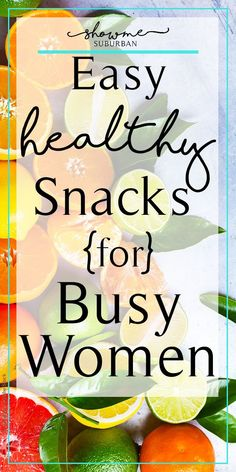 These 10 ideas for light and healthy snacks are perfect for busy women on the go, at work, or at home. Get tips for a variety of high protein, filling, quick and simple low-calorie foods that will help maintain weight and keep hunger at bay. #healthyfoods