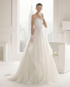 Serena vestido de novia Rosa Clara