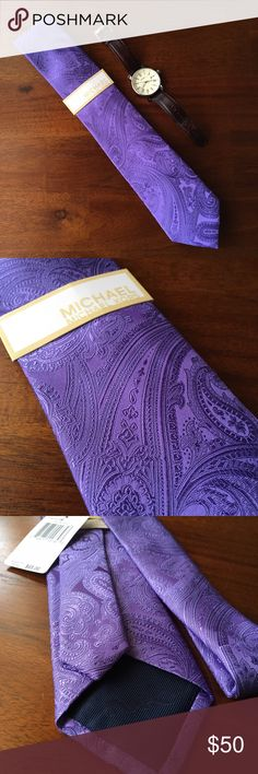 Michael Kors 100% Silk Tie Gorgeous color. Stylish and sophisticated. MICHAEL Michael Kors Accessories Ties