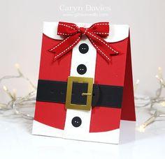 Santa Claus Christmas card! So cute!: