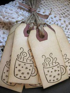 hot cocoa tags...