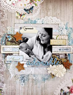 Adorable. Layout by identicaltriplets