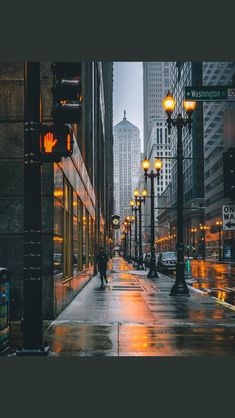 Chicago looks beautiful even in rain