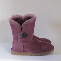 SORAYA´S CLOSET UGG Bailey Button Women's Sugar Plum Boots Ugg Bailey Button, Ugg Boots, Plum, Uggs, Closet, Shoes, Fashion, Ugg Slippers, Armoire