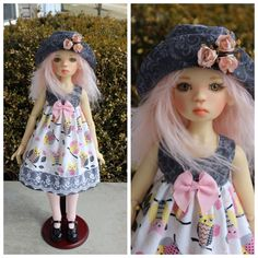 OOAK Handmade Outfit for Kaye Wiggs SD BJD Nelly