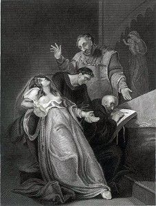 On 20th April 1534, Elizabeth Barton, a Benedictine nun who became known as 'the Nun of Kent' or 'the Holy Maid of Kent', was hanged for treason at the gallows at Tyburn along with her spiritual adviser, Father Edward Bocking; Richard Risby, Warden of the Observant Friary at Canterbury; and Hugh Rich, Warden of the Observant Friary at Richmond.