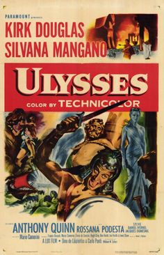 A movie adaptation of Homer's second epic, that talks about Ulysses' efforts to return to his home after the end of ten years of war. Description from moviepostershop.com. I searched for this on bing.com/images