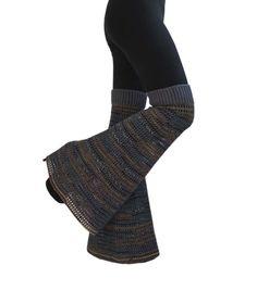 One Size  - Hazy Shades - Wool Crochet Boot Leg Warmers /  Bell Bottoms / Garter Pants /  Flares /. $49.00, via Etsy.