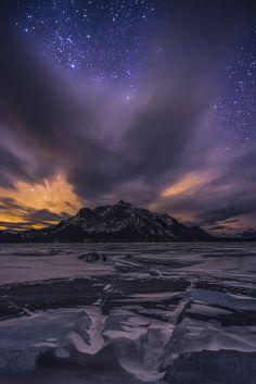 Abraham Lake, Alberta, Canadá
