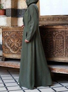 البادية عباية عبايات نساء Abaya Morrocan Fashion Flattering Fit