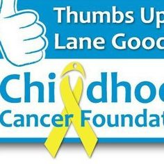 Lane Goodwin! thumbs up spread for childhood cancer awareness! R.I.P fly high!