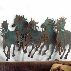 Fancy Free Horses Wall Art | King Ranch