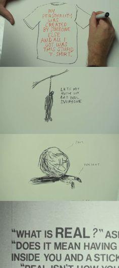 """Beginners... """"What is REAL?"""" Velveteen Rabbit + Beginners + Ewan McGregor = WONDERFUL"""