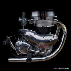 NO 43: CLASSIC MATCHLESS G12 MOTORCYCLE ENGINE, By Gordon Calder