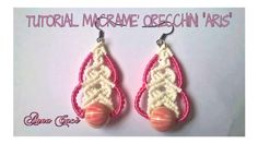 "Tutorial macramè orecchini ""Aris""/Tutorial macramé earrings ""Aris""/Diy t..."
