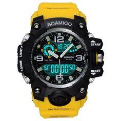 Earnest Skmei Top Luxury Sport Watch Men Compass Watches Alarm Clock 5bar Waterproof Led Display Digital Watch Relogio Masculino Watches