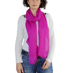 FUCHSIA Scarf, Spring Scarf, FUCHSIA Pashmina, Cashmere scarf, Large Shawl, Long Scarves, Summer scarves, Fuchsia Cashmere, Colorful scarf