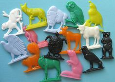 Cereal box prizes in the 50s