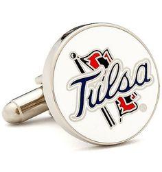 Tulsa Golden Hurricane Cufflinks