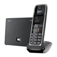 Gigaset - C530 IP Dect 6.0 Expandable Cordless Phone System - Black/Silver