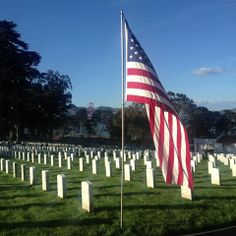 San Francisco National Cemetery in the Presidio