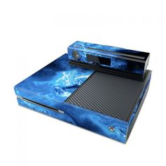 Blue Quantum Waves Microsoft Xbox One Skin